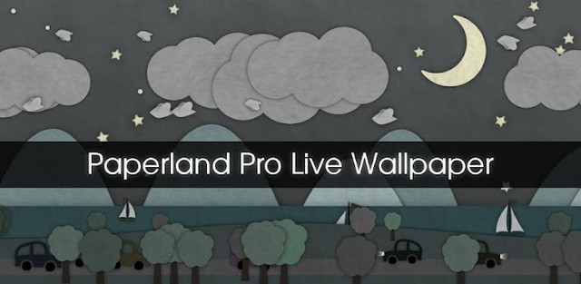 Paperland Pro Live Wallpaper v2.1 Apk