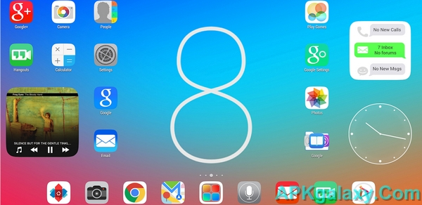 ios 8 theme for android apk