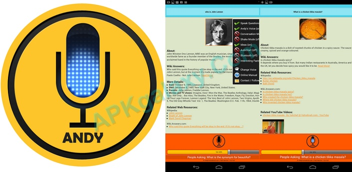 ANDY Voice Assistant (PRO) v11 6x Apk | APKgalaxy
