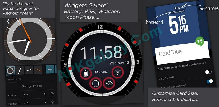 WatchMaker Watch Face v4 9 7 [Unlocked] Apk | APKgalaxy