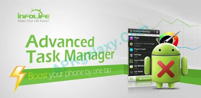 Advanced Task Manager – Boost Apk