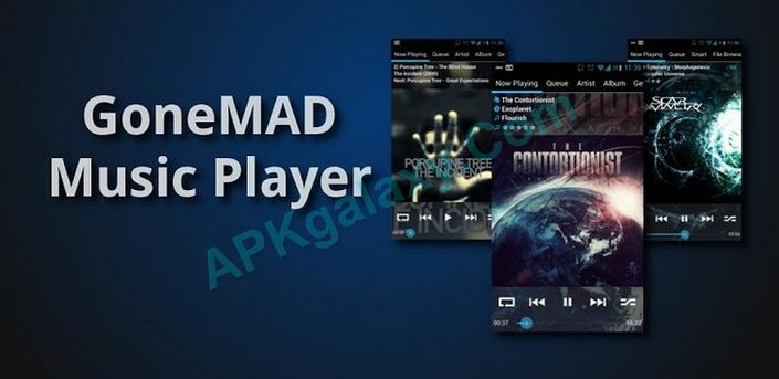 GoneMAD Music Player FULL Apk