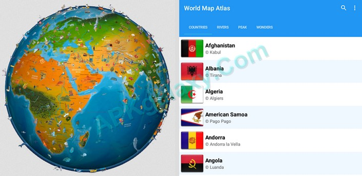 World map atlas 2016 v295 unlocked apk apkgalaxy world map atlas 2016 v295 unlocked apk gumiabroncs Gallery