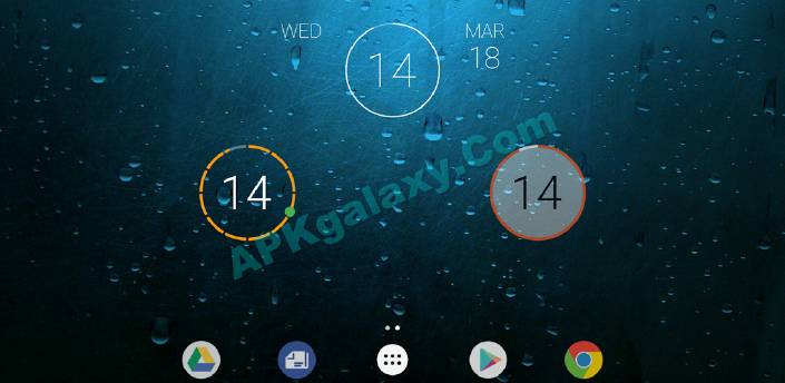 onca Clock Widget Pro v1 1 0 Patched Apk | APKgalaxy
