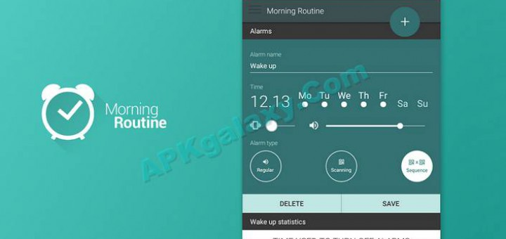 Morning Routine – Alarm Clock Premium v3 2 build 49 Apk