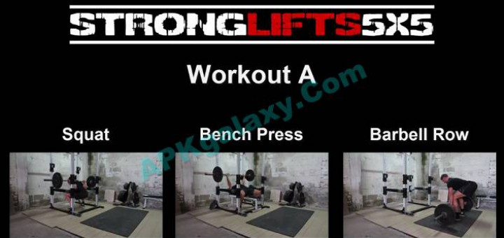 StrongLifts 5×5 Workout Pro v2 0 20 Apk | APKgalaxy