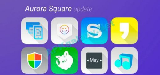 Aurora UI Square – Icon Pack Apk