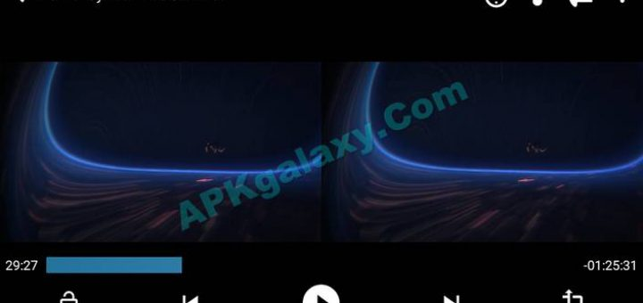 Blue VR Player PRO Apk