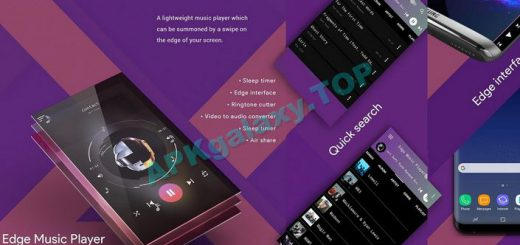 S8 Edge Music Player Apk