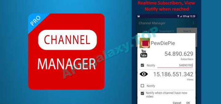 Download Channel Manager Pro Youtube v1 5 (Paid) Apk free