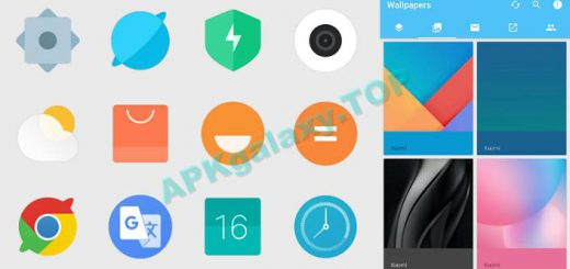 MIUI 9 Icon Pack & Wallpapers Apk