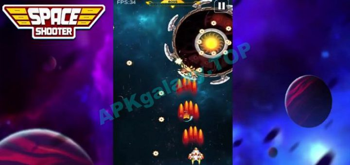 Space Shooter Galaxy Shooting Apk