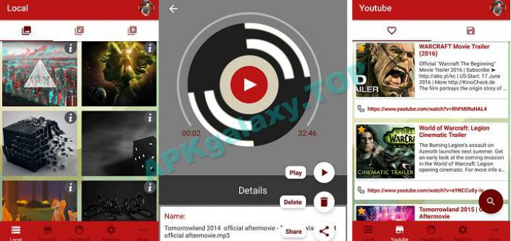 PlayBox for YouTube Pro v1 9 (Paid) Apk | APKgalaxy