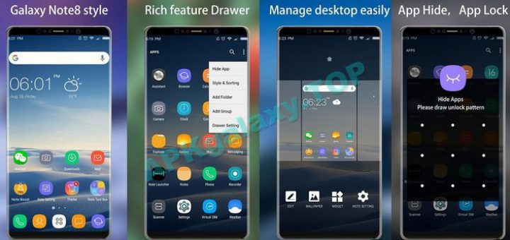 Note 8 Launcher Prime – Galaxy Note8 launcher, hot theme v1