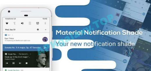 Material Notification Shade Pro Apk