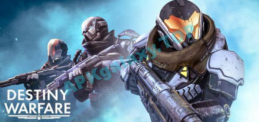 Destiny Warfare Sci-Fi FPS Apk
