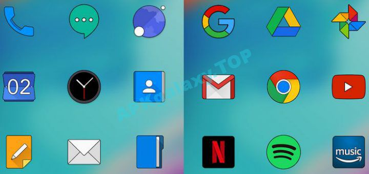 ONE PLUS OXYGEN ICON PACK HD v1 7 [Patched] Apk | APKgalaxy