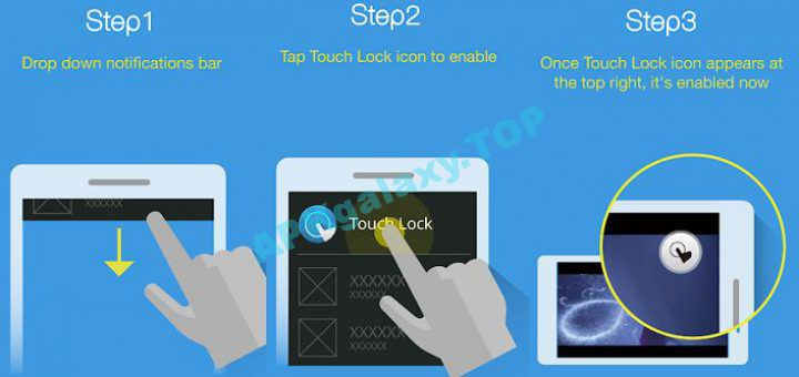 Touch Lock Touch Block - Android
