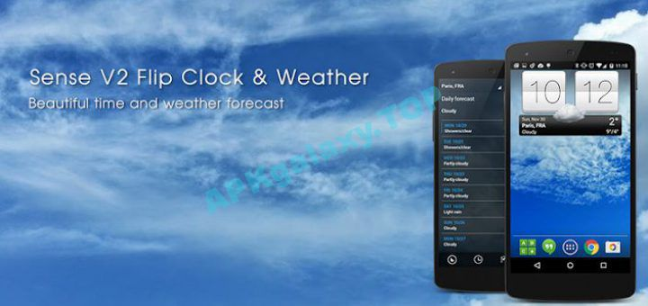 Sense V2 Flip Clock & Weather Premium Apk