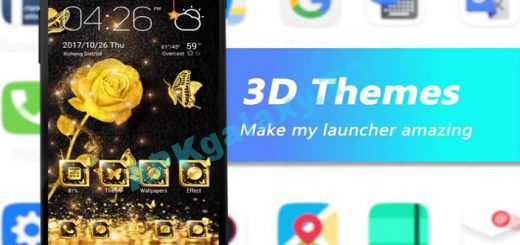 GO Launcher – 3D parallax Themes & HD Wallpapers Apk