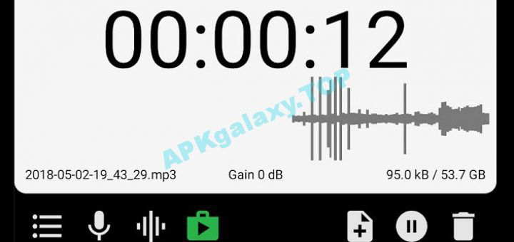 MP3 Voice and Audio Recorder – ASR Pro v224 Apk | APKgalaxy