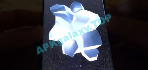 Shiny Crystals Parallax 3D Live Wallpaper Apk