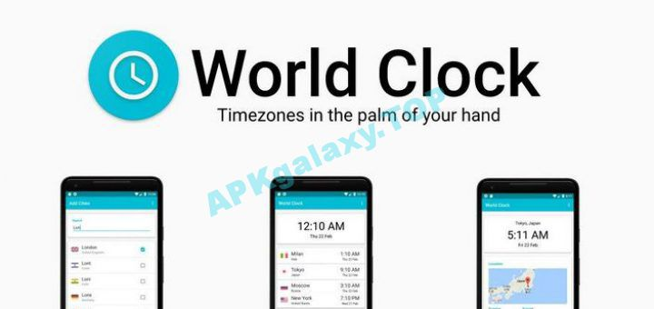 World Clock Pro – Timezones and City Infos Apk