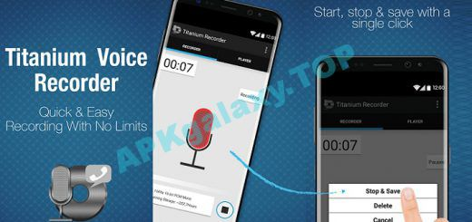 Titanium Voice Recorder with number ID Apk