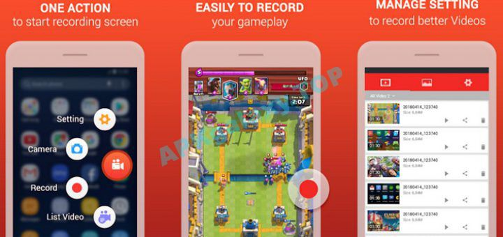 Screen recorder – Record game & record video v3 5 [ad-free] Apk