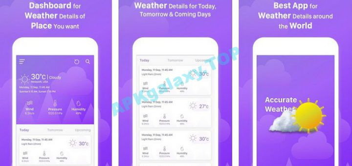 Accurate Weather Forecast – Live weather Condition v1 10 [Paid] Apk