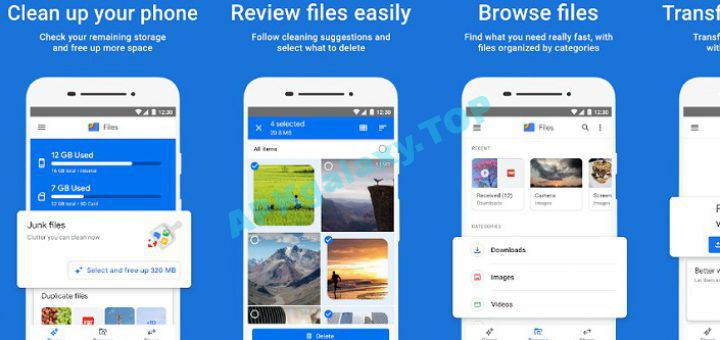 Files by Google Clean up space on your phone Apk