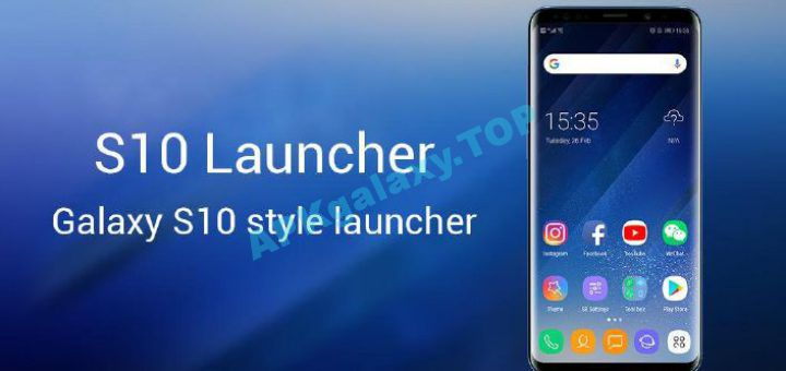 SO S10 Launcher for Galaxy S, S10/S9/S8 Theme Pro v5 9 Apk