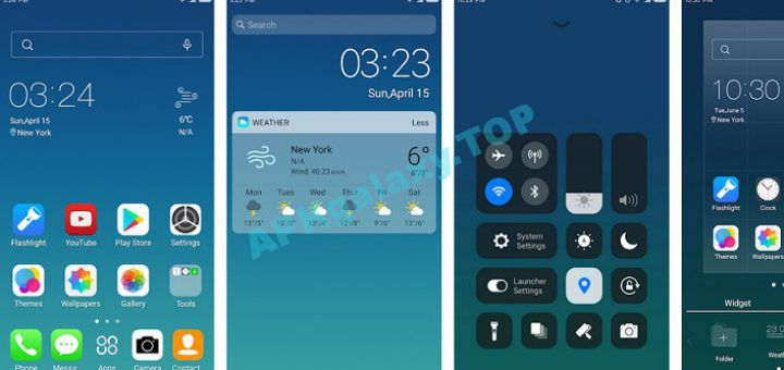 X Launcher Prime With OS Style Theme & No Ads Apk