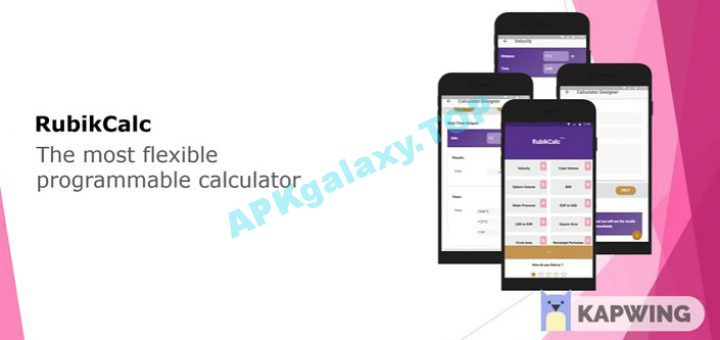 RubikCalcPRO Programmable Calculator Apk