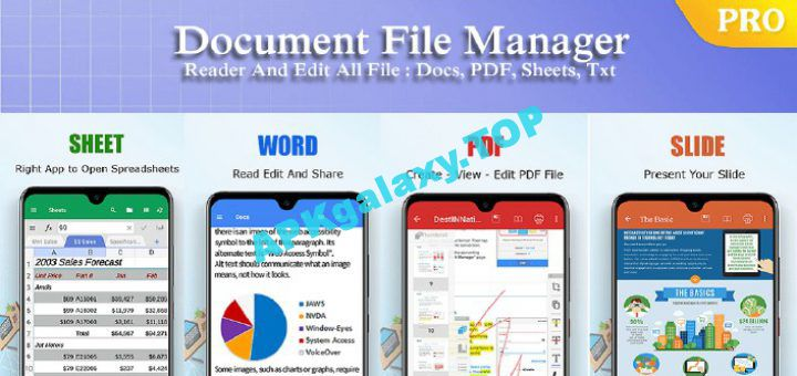ES Office Reader Word Office Document XLS PPT Apk