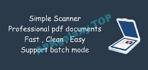 Simple Scan Pro – PDF scanner Apk