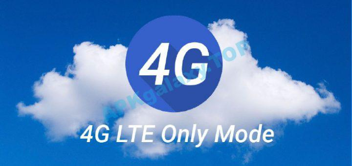 4G LTE Only Mode – Switch to 4G Only Apk
