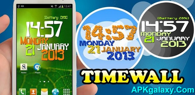 Timewall_Clock_Wallpaper