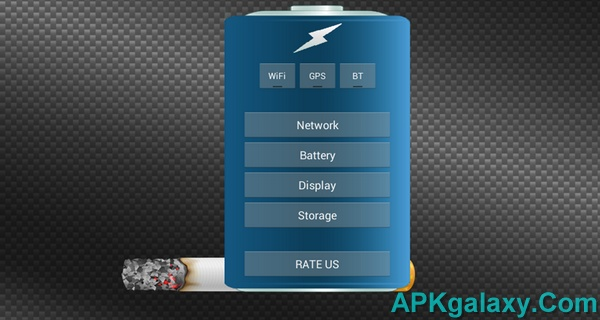 Cigarette Battery HD Widget