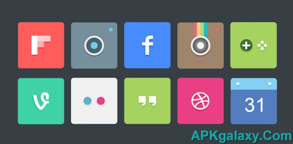 MatteFlat Icon Pack