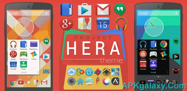 Project Hera Launcher Theme