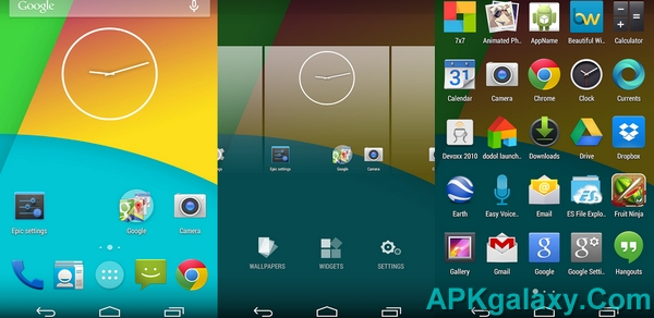 Epic Android L Launcher