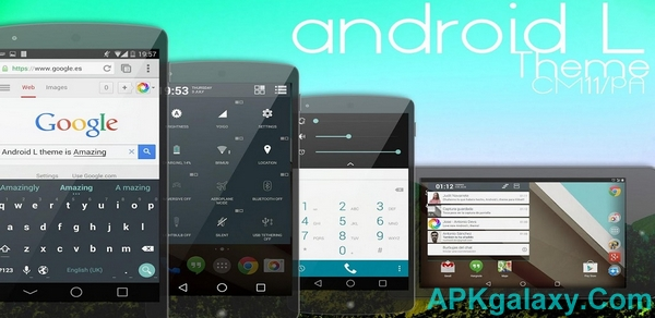 Android L Theme – CM11 PA