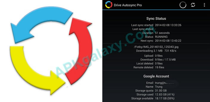 Autosync for Google Drive Apk