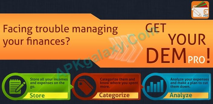 Daily Expense Manager PRO Apk