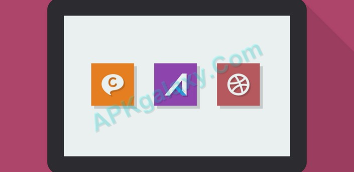 Naxos Flat Icon Pack Apk
