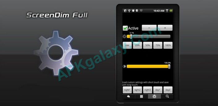 ScreenDim Full Apk