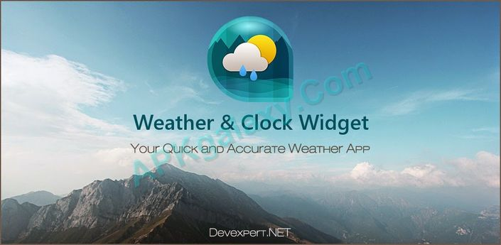 Weather & Clock Widget Apk