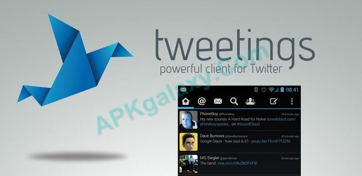 Tweetings for Twitter Apk