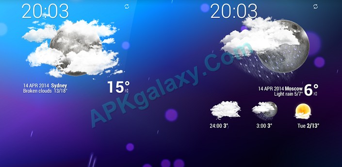Weather Animated Widgets Apk